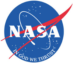 New faith-based NASA logo