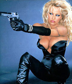... Pamela Anderson, the popular former Baywatch star, swimwear model, sex ...