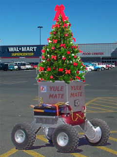 Yule-Mate in Auto-gift mode