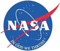 New faith-based NASA logo