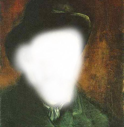 "Van Gogh self-portrait: ""lessened"" version"